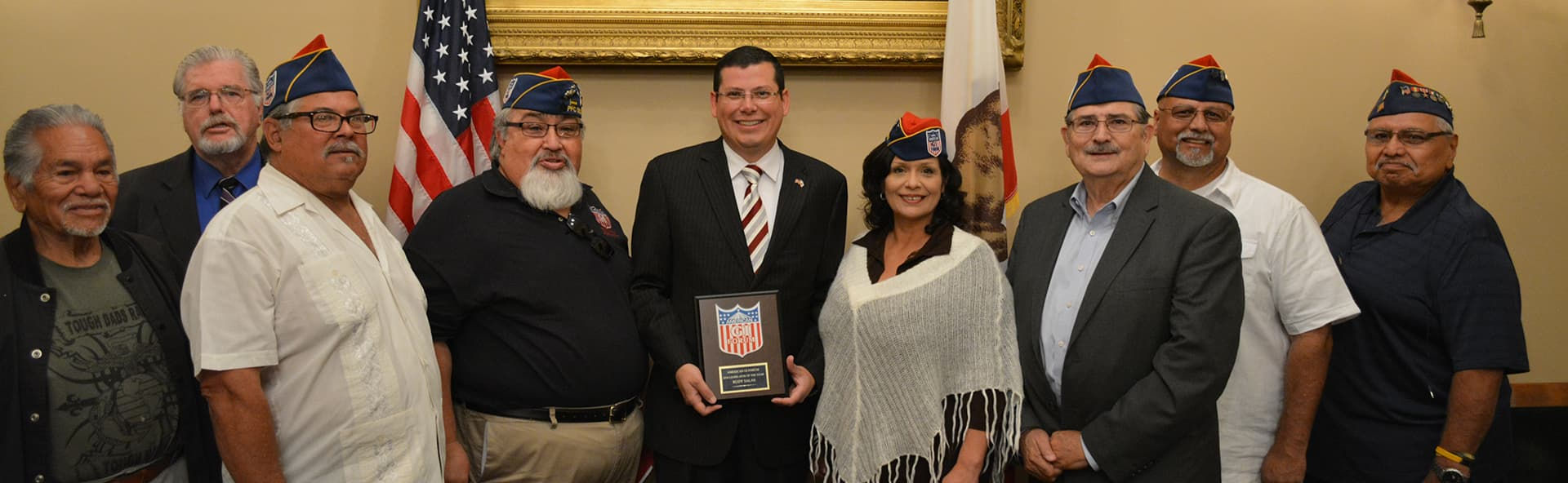 American GI Forum Legislator of the year award 2016