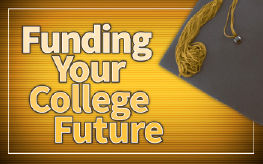 Funding your College Future Graphic