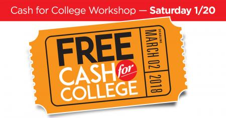 Free Cash for College Graphic