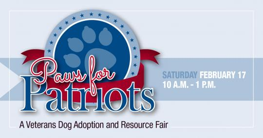 Paws for Patriots Graphic - Paw Print