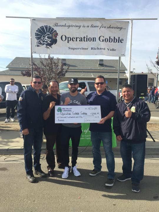 """Operation Gobble"" in Kings County"