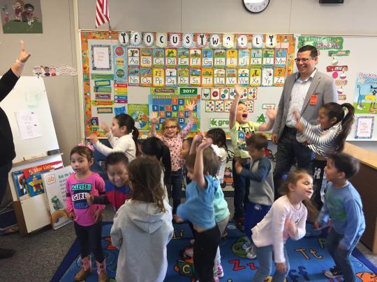 First 5 Kern Buttonwillow Community Resource Center, Preschool & Buttonwillow Elementary School