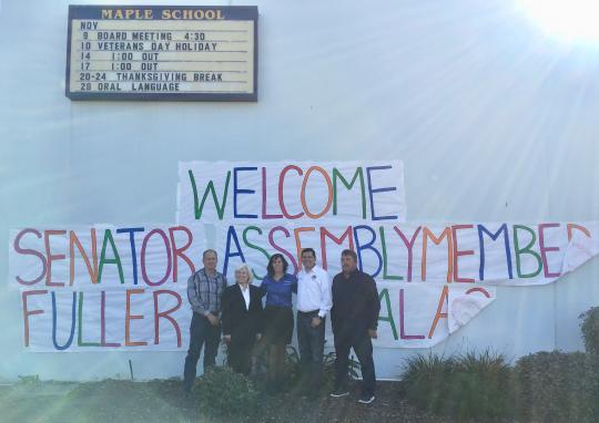 Maple Elementary School in Shafter