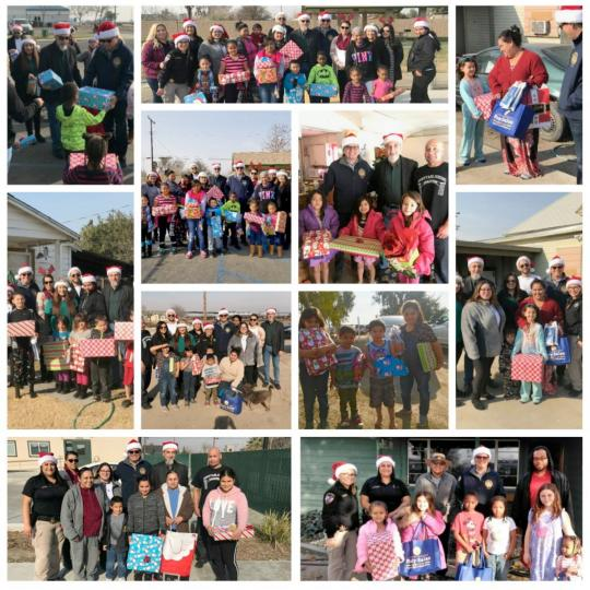 Holiday Toy Drive Pictures - Gift Giving