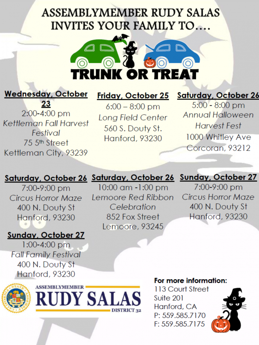 Kings County Trunk or Treat 2019