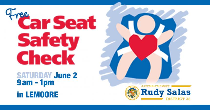 In Partnership With The California Highway Patrol I Am Hosting My Fifth Annual Car Seat Safety Check Up Event To Help Parents Ensure Of Their