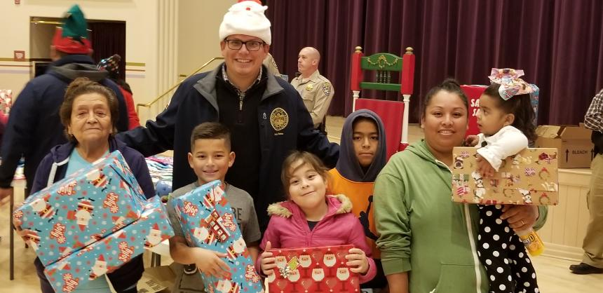 Christmas Toy Drives Hosted Throughout Kings County
