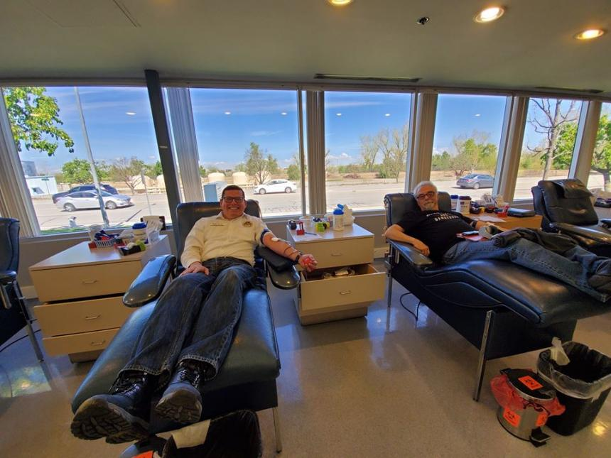 Assemblymember Salas Answers Health Officials Call to Donate Blood