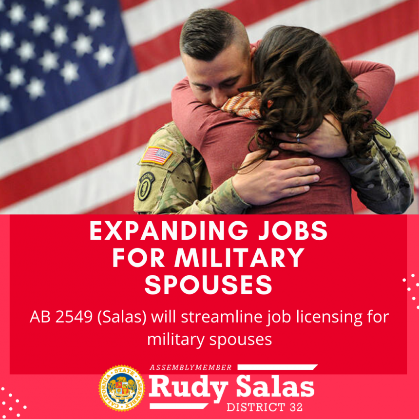 Legislation to Expand Job Opportunities for Military Spouses Advances