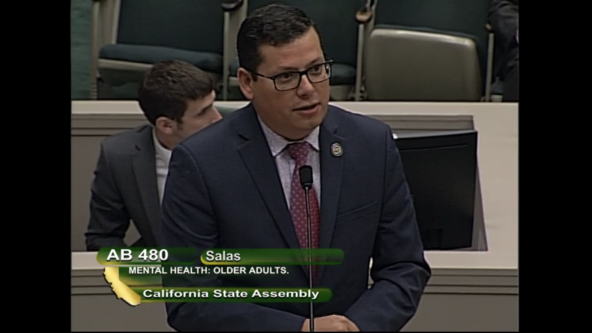 Assemblymember Salas presenting in Assembly Health Committee