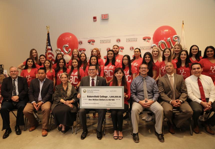 Assemblymember Salas awards funding secured in state budget to Bakersfield College