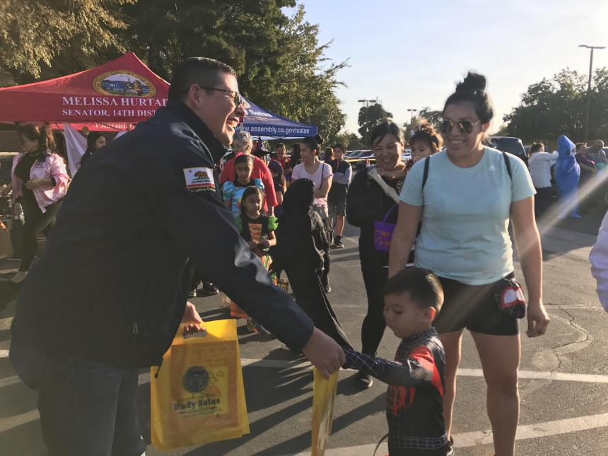 Salas Hosts Halloween Celebrations for Communities throughout the Valley