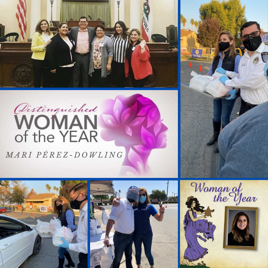 "Assemblymember Salas Honors Mari Pérez-Dowling as ""2021 Woman of the Year"""