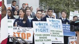 FAA Students from the Central Valley at the Water Grab Rally in Sacramento