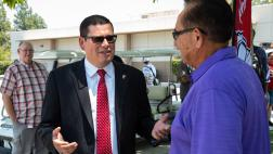 Assemblymember Salas at Bakersfield College Event