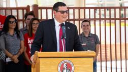 Assemblymember Salas Speaking at Bakersfield College