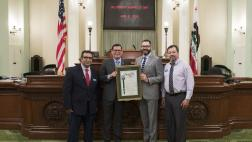 Assemblymember Rudy Salas recognizes Self-Help Enterprises as Nonprofit of the Year