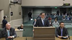 Assemblymember Salas presents his Valley Fever Bills before Assembly Health Committee