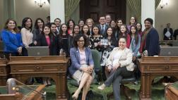 Assemblymembers and Students